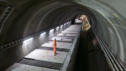 Video: Crossrail nears 75% complete milestone on time