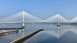 Queensferry Crossing to open on August 30 #Queensferry #Crossing #QueensferryCrossing #Bridge #Forth #Scotland #Lothian #Fife #Water #Traffic #Cars #Transport #Travel #Windshielding #Stunning #Design #OpeningSoon