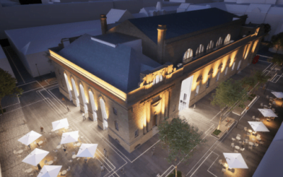 Perth City Hall and Perth Museum and Art Gallery designers selected