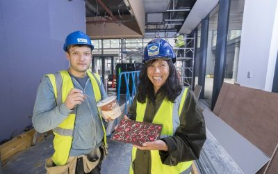 Burns Construction to fit out Marischal Square Ice Cream Parlour