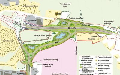 New M20 junction to facilitate Ashford's growth