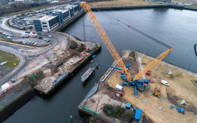 Balfour Beatty's Middlehaven Dock Bridge and Road project set to reach new heights