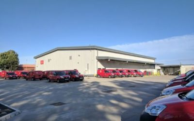 Royal Mail South Shields delivery office completed in 23 weeks