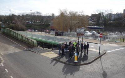 Bathurst Basin bridge brings the local community together