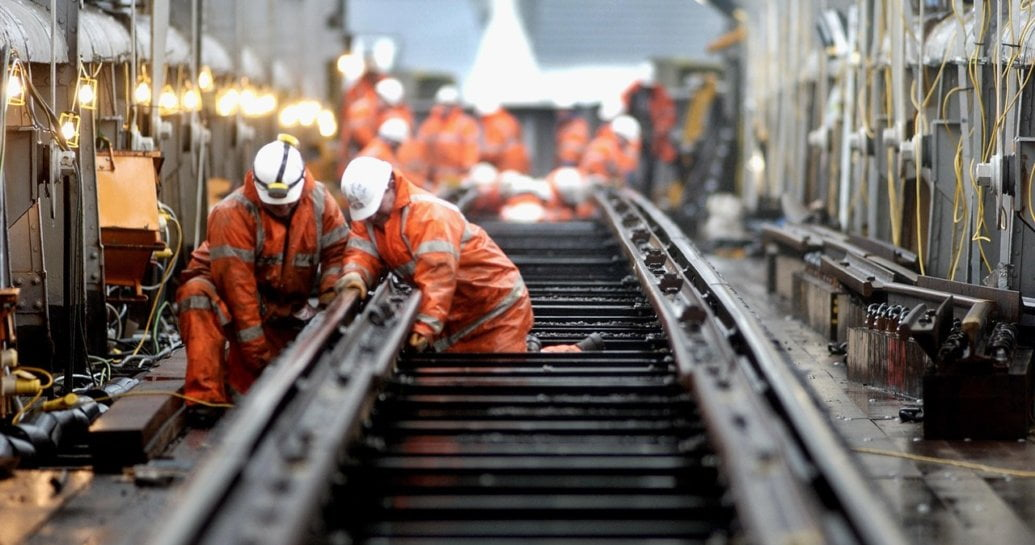 Passengers reminded to plan ahead this Easter as Network Rail undertakes £118m railway upgrade