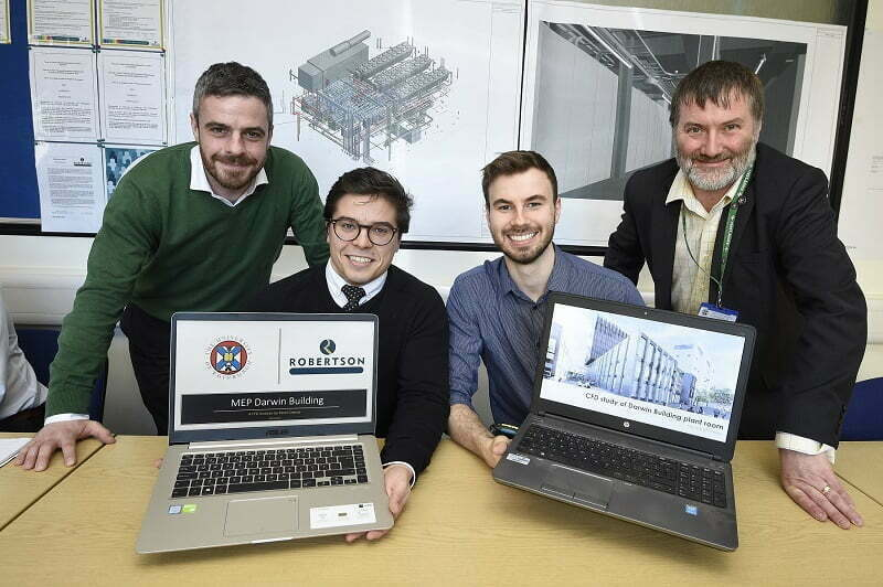 ENGINEERING STUDENTS GET TO GRIPS WITH LIVE PROJECT AT UNIVERSITY OF EDINBURGH
