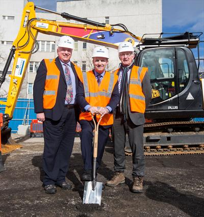 Construction begins of Scotland's first justice centre