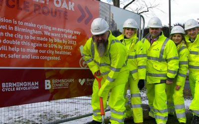 Amey geared for growth in Birmingham as new cycle scheme starts