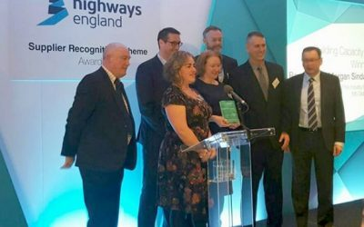 Oldbury Viaduct receives Highways England Supplier Recognition Award