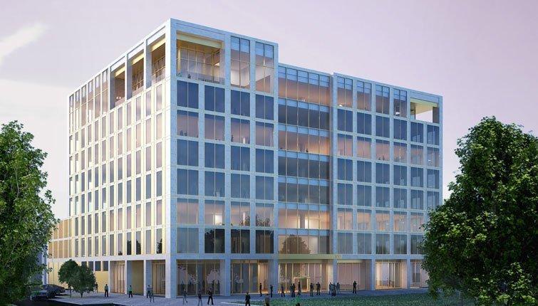 Galliford Try reaches close on landmark MK office development