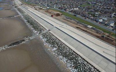 Balfour Beatty completes £63 million Rossall Coastal Defence Scheme