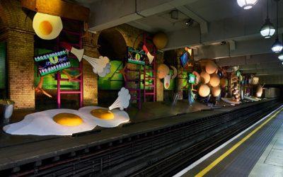 Art on the Underground unveils most ambitious artwork in its history by British artist, Heather Phillipson