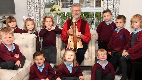 Pupils Hop Along to Barratt Homes for a Storytelling Session