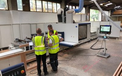 Northamptonshire business invests in the future with new machinery
