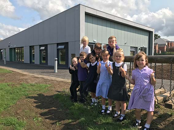 25th Rising Rolls school extension successfully handed over in Edinburgh