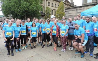 VolkerStevin employees smash 10k Preston charity run