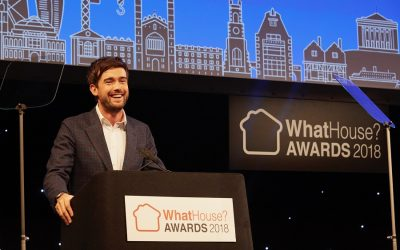 JACK WHITEHALL, GABBY LOGAN & LAWRENCE DALLAGLIO JOINED OVER 1700 OF THE BIGGEST NAMES IN THE NEW HOMES INDUSTRY AT THE 37th ANNUAL WHATHOUSE? AWARDS
