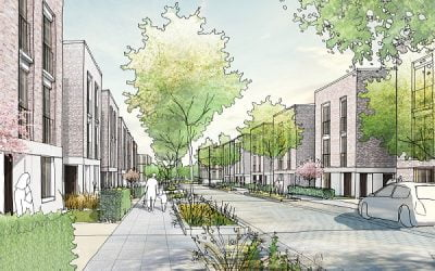 PRP appointed to lead masterplan and design of homes at The Western Village in Ebbsfleet Garden City