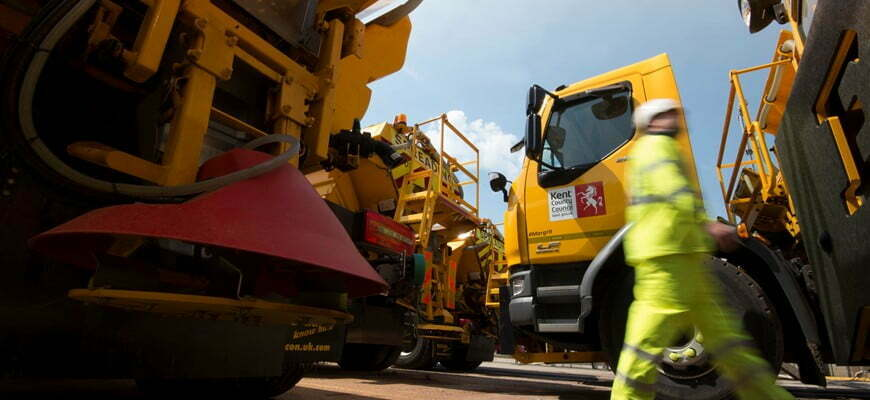 A collaborative relationship secures Amey a two-year extension With Kent County Council