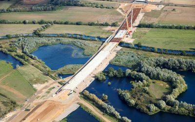 UK's biggest road upgrade reaches half way point