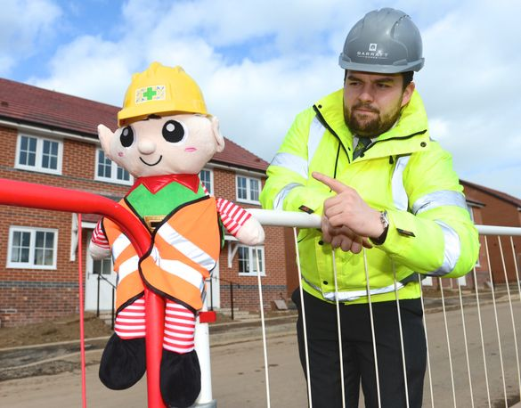 Homebuilders Enlist Santa's Little Helper to Warn Children About Elf N' Safety