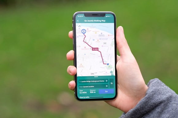 From map to app: TfL and Go Jauntly team up to bring the Walking Tube Map onto people's phones