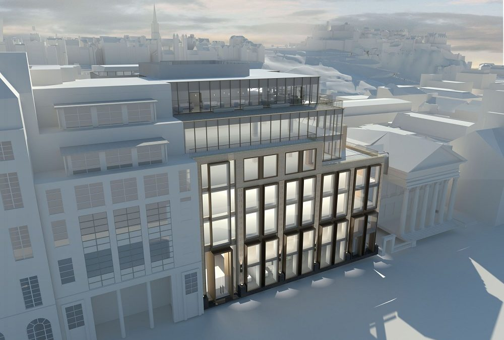 Topping out at redevelopment of key Edinburgh office building