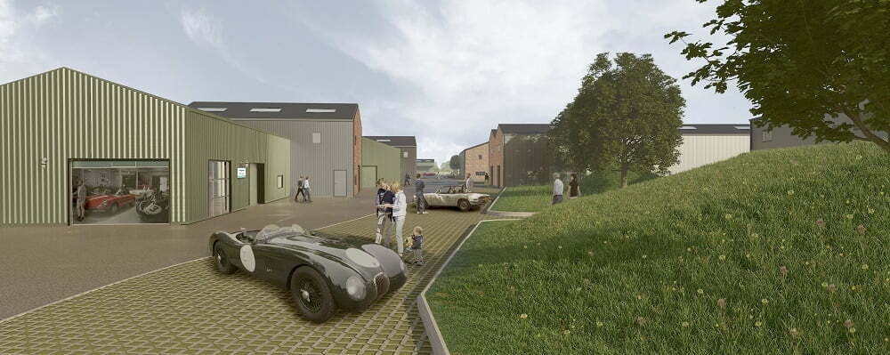 BICESTER HERITAGE ANNOUNCES PLANNING APPROVAL FOR EXPANSION OWING TO EXCEPTIONAL DEMAND WITH 'NEW TECHNICAL SITE' DEVELOPMENT