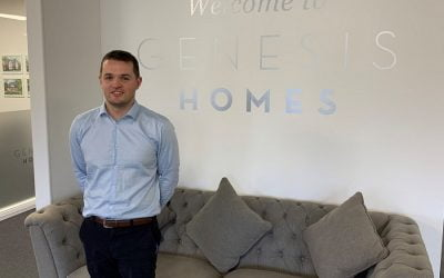 Quick promotion for Mark Cash, Genesis Homes' new Head of Construction