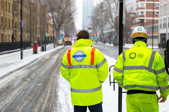 TfL and London boroughs plan ahead to help reduce disruption during wintry weather and keep customers safe