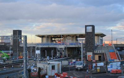 Work continues to increase train services along Lee Valley line