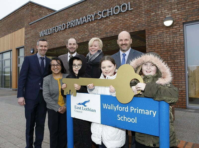 Keys handed over for new Wallyford Primary