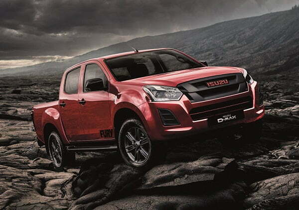 THE NEW ISUZU D-MAX FURY NOW FULLY UNLEASHED