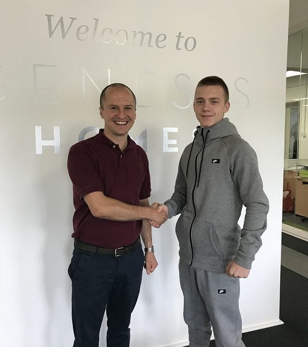 Genesis Homes talks about its successful apprenticeship programme