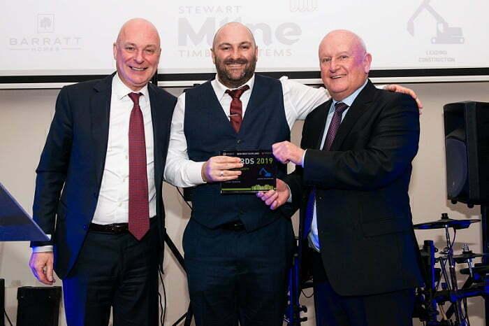 Stewart Milne Timber Systems Wins Barratt David Wilson Home's Health and Safety Award