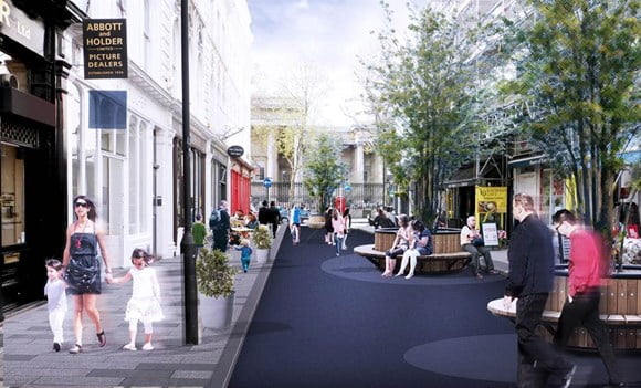 Eleven new projects to receive £50 million investment to create healthy streets across London
