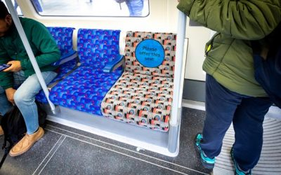 TfL urges Londoners to offer up their seats as research shows it still makes one in four people 'feel awkward'