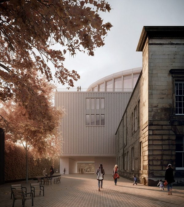 APPROVAL FOR EDINBURGH'S DUNARD CENTRE