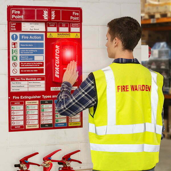 Enhance visibility and knowledge of fire safety