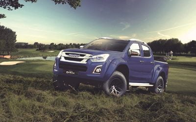 Win with the Isuzu D-Max Arctic Trucks AT35, it's Tough in the Rough