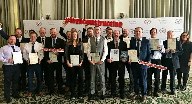 Leading infrastructure business celebrates record win at National Site Awards