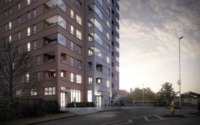 Higgins starts work on site at Woolwich Reach for Notting Hill Genesis – 100% affordable housing