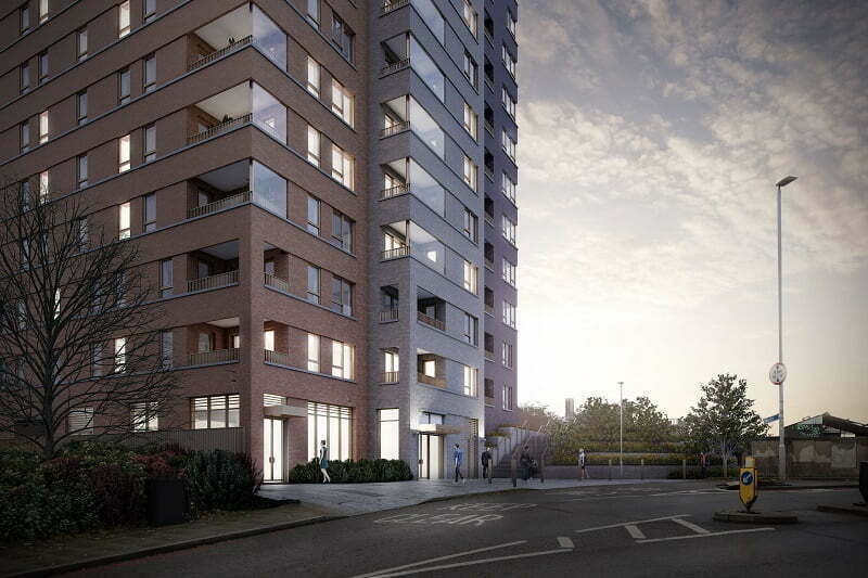Higgins starts work on site at Woolwich Reach for Notting Hill Genesis - 100% affordable housing