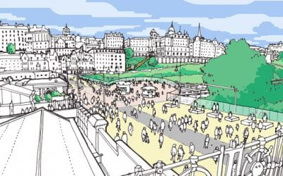 Bold proposals for Edinburgh's transformation unveiled