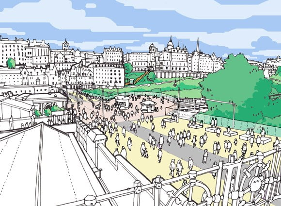 Bold proposals for Edinburgh's transformation unveiled
