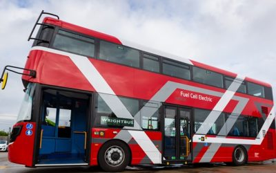 World-first hydrogen double decker buses to help tackle London's toxic air