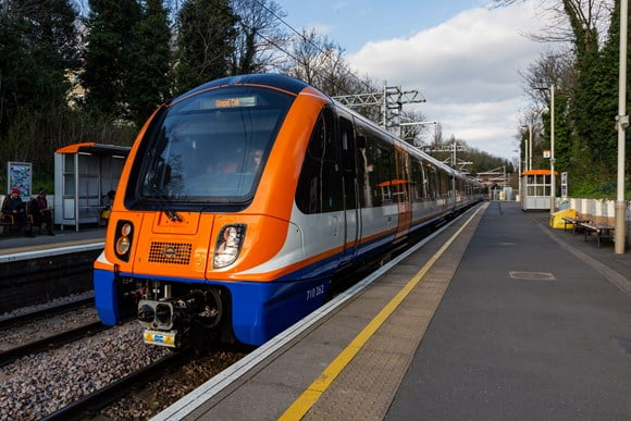 New London Overground electric trains enter service on the Gospel Oak to Barking line