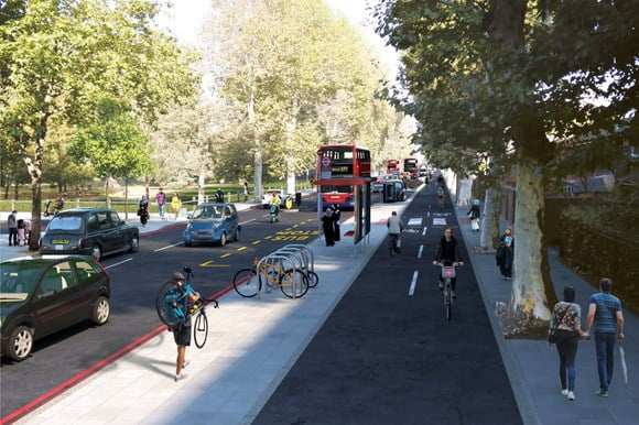 TfL sets out proposals for major new Cycleway in east London