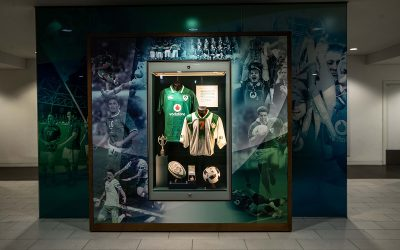 AVIVA STADIUM TOUR – A GAME OF TWO SPORTS MATHER & CO UPDATES STADIUM TOUR TO ENHANCE VISITOR EXPERIENCE