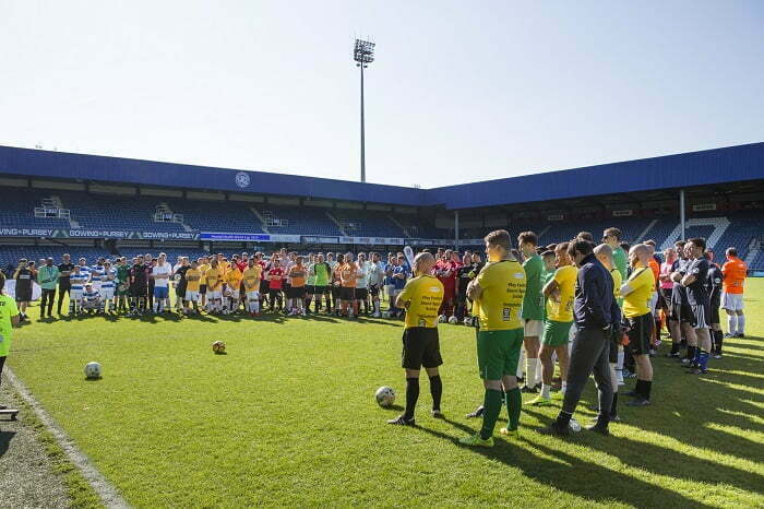 Mental health football tournament raises £42,000